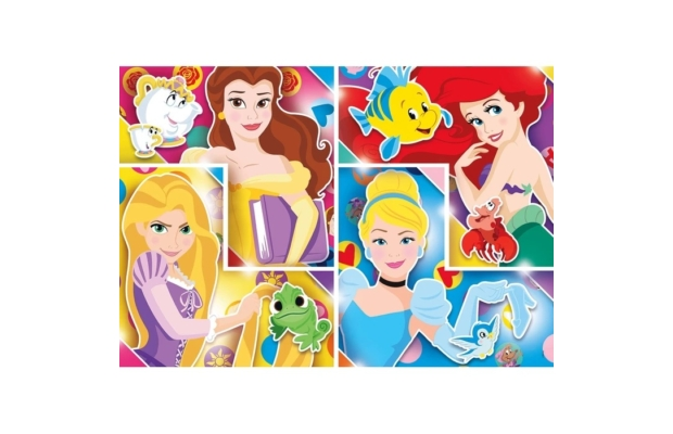 Disney Hercegnők 104 db-os puzzle - Clementoni