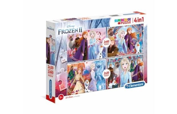 Jégvarázs 2. 2x20 és 2x60 db-os puzzle - Clementoni