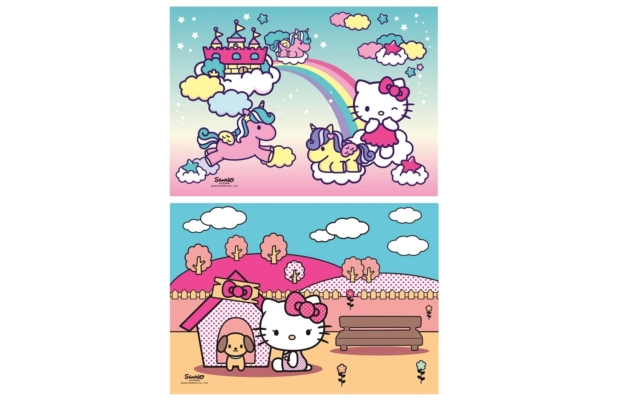 Hello Kitty 2x20 db-os puzzle - Clementoni