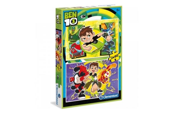 Ben10 2x60 db-os puzzle - Clementoni