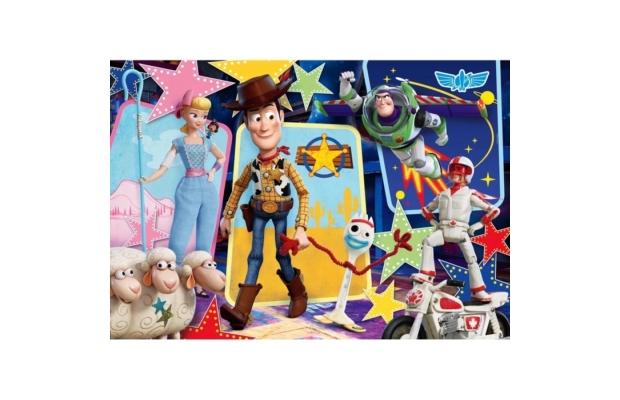Toy Story 4. 104 db-os csillogó puzzle - Clementoni