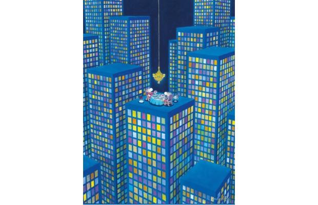 Mordillo, a vacsora 500 db-os puzzle - Clemetoni