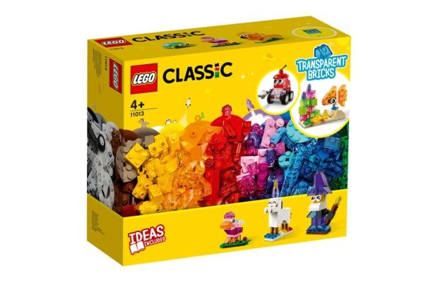 LEGO Classic: 11013 Kreatív áttetsző kockák