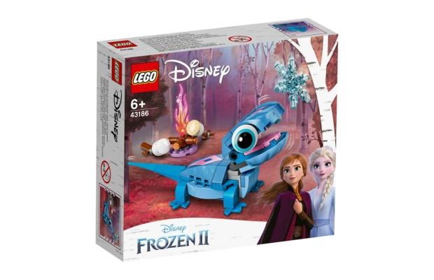 LEGO Disney Princess: 43186 Tüzi a szalamandra, megépíthető karakter