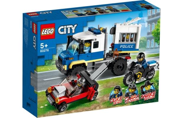 LEGO City: 60276 Rendőrségi rabszállító