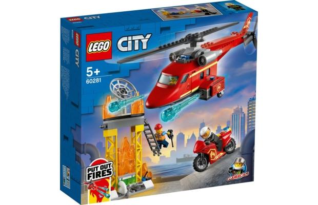 LEGO City: 60281 Tűzoltó mentőhelikopter