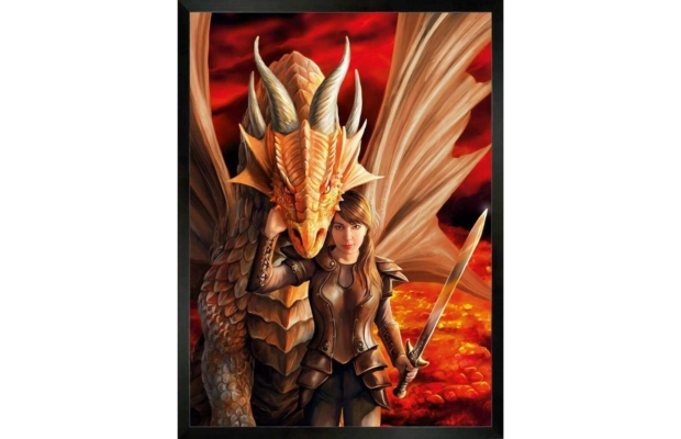 Anne Stokes Collection - Inner Strenght 1000 db-os puzzle - Clementoni