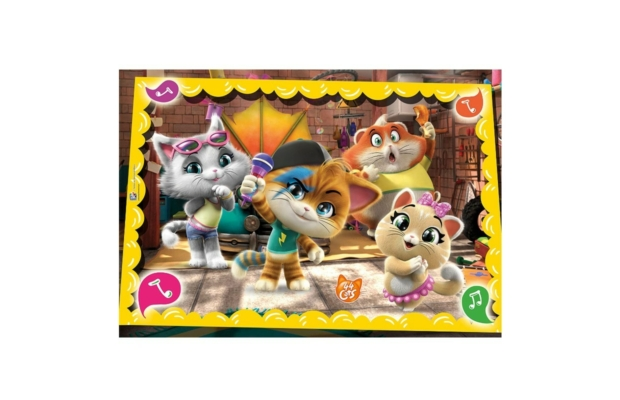 44 macska szuper színes 60 db-os puzzle - Clementoni