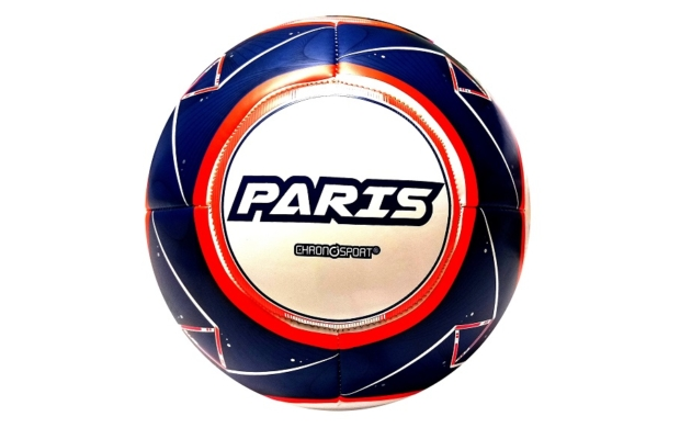 Paris műbőr focilabda, 5-ös méret