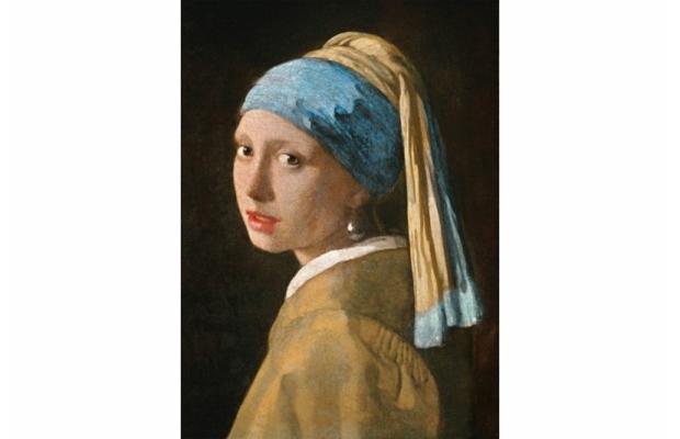 Vermeer: Leány gyöngy fülbevalóval 1000 db-os puzzle - Clemetoni Museum Collection