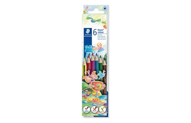 Staedtler Noris háromszögletű színes ceruza, 6 db-os