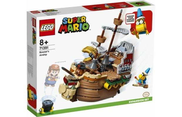LEGO Super Mario: 71391 Bowser léghajója kiegészítő szett