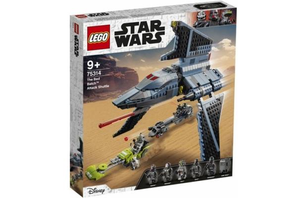 Lego Star Wars: 75314 The Bad Batch támadó shuttle
