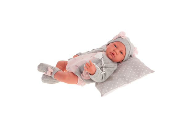 Antonio Juan csecsemő baba cumival, 40 cm-es