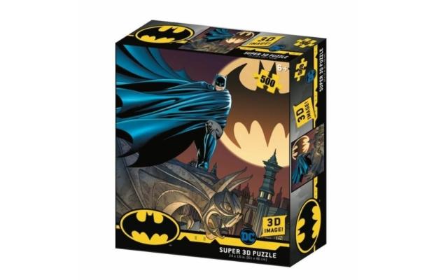 Batman jel 3D puzzle, 500 darabos
