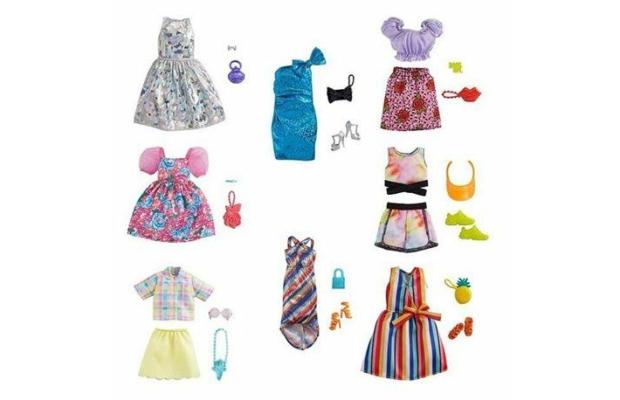 Barbie ruhaszettek, többféle